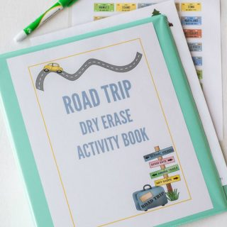 road trip activity book the kids can use again and again