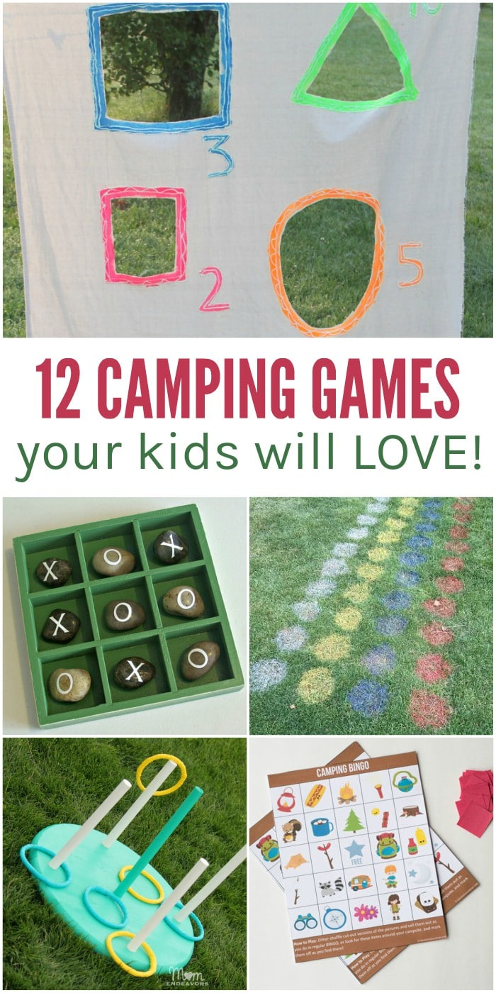 12 Fun Camping Games for Kids (and the rest of the family)