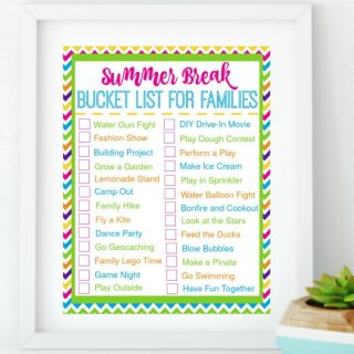 Summer Break Bucket List for Families