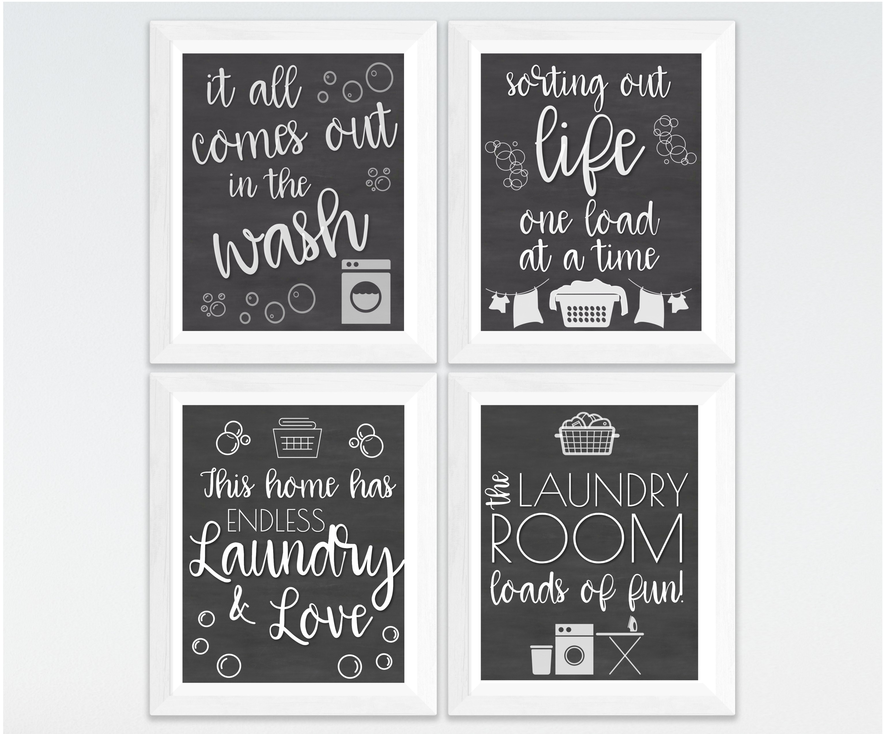 Laundry Room Printable Decor