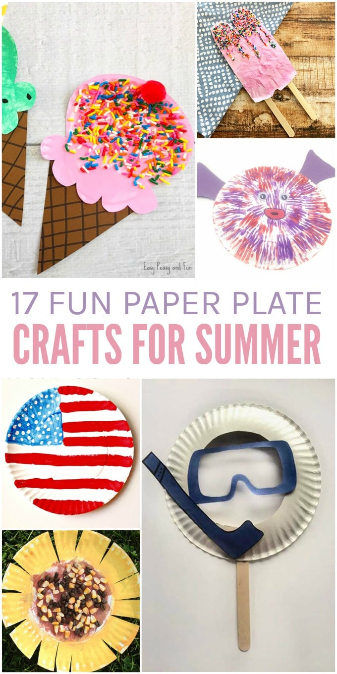 17 Cute Paper Plate Crafts for Summer