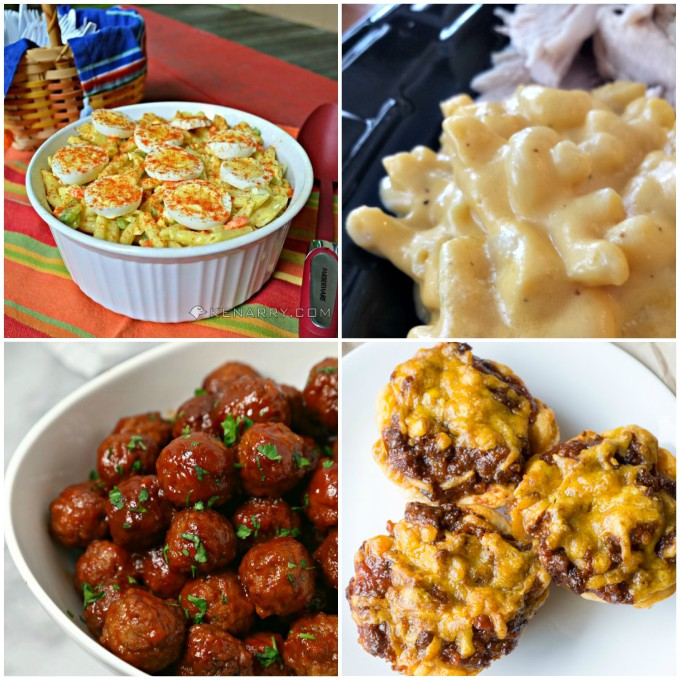 easy potluck recipes