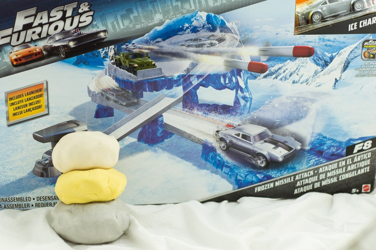Fast & Furious Deluxe Scene Playset