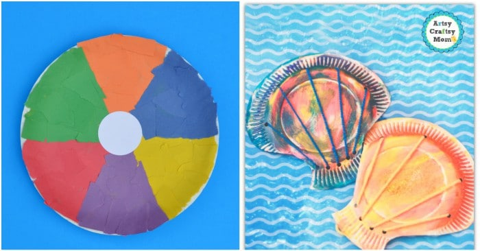 fun summer paper plate crafts