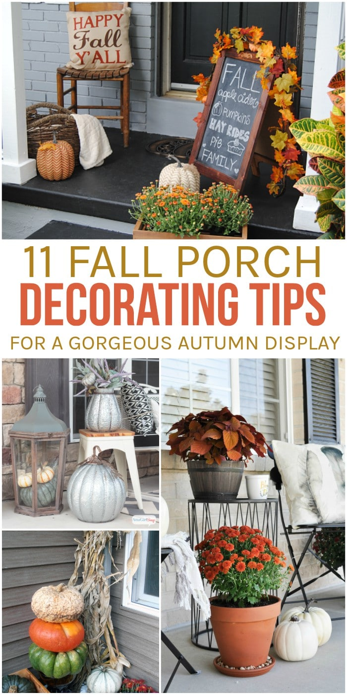11 Fall Porch Decorating Tips for a Gorgeous Autumn Display