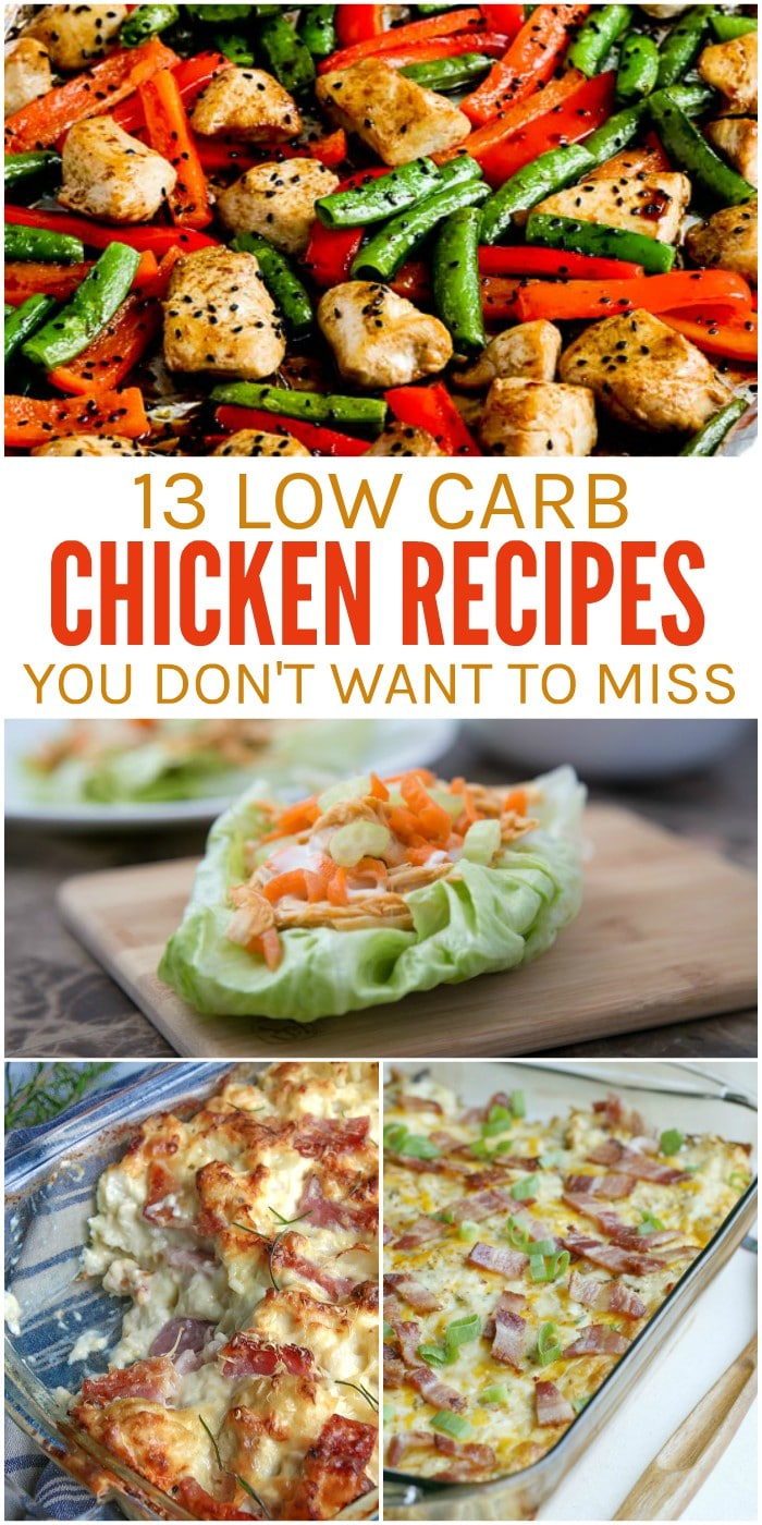 13 Low Carb Chicken Recipes You Don't Want to Miss