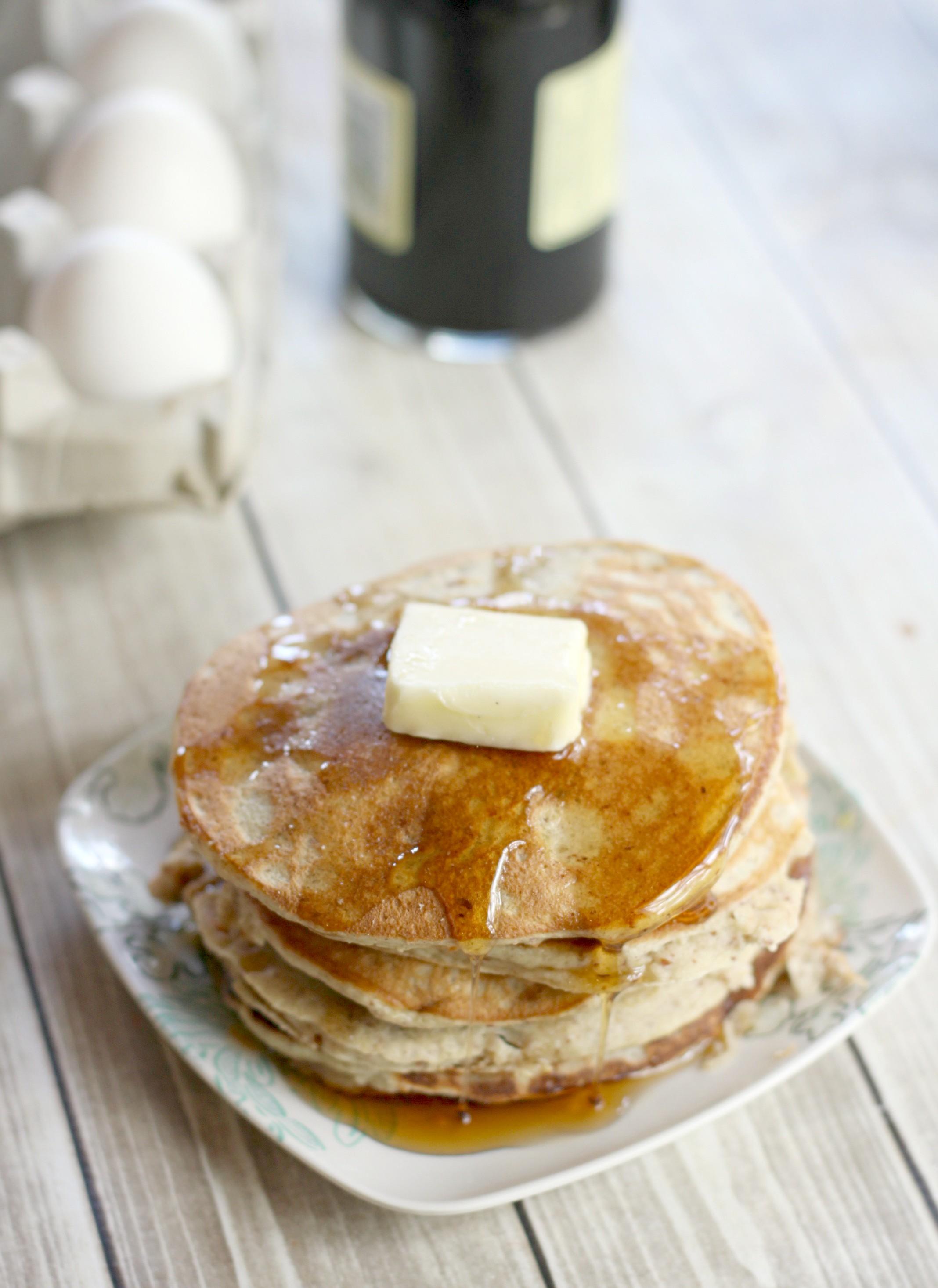 Gluten free, low carb pancakes