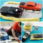 Road Themed Homemade Playdough