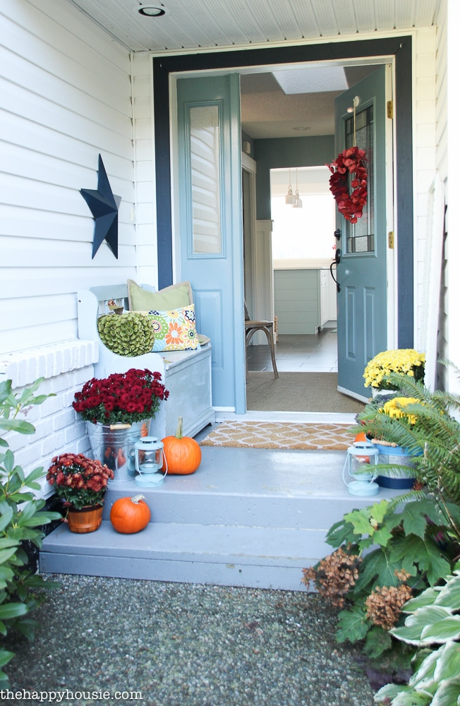 small porch