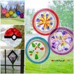 23 Gorgeous Suncatcher Crafts for Kids