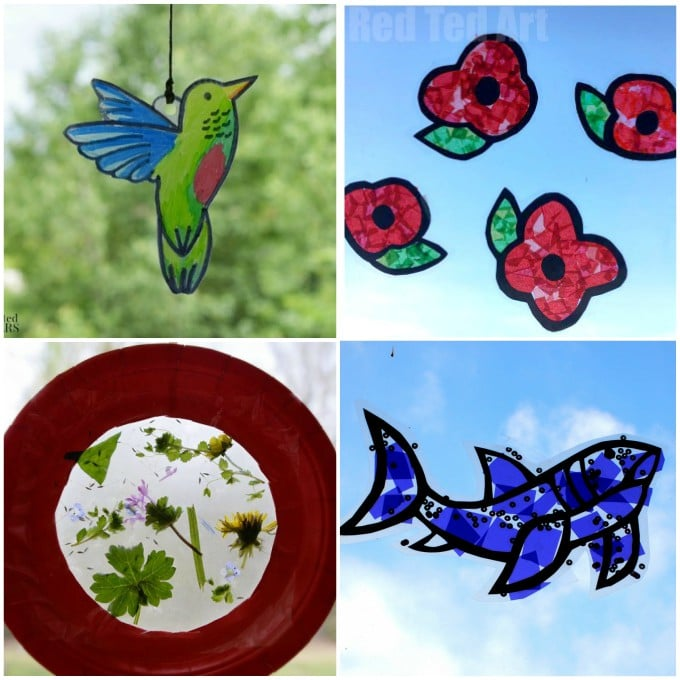 Gorgeous Suncatcher Crafts Kids Will Love Making