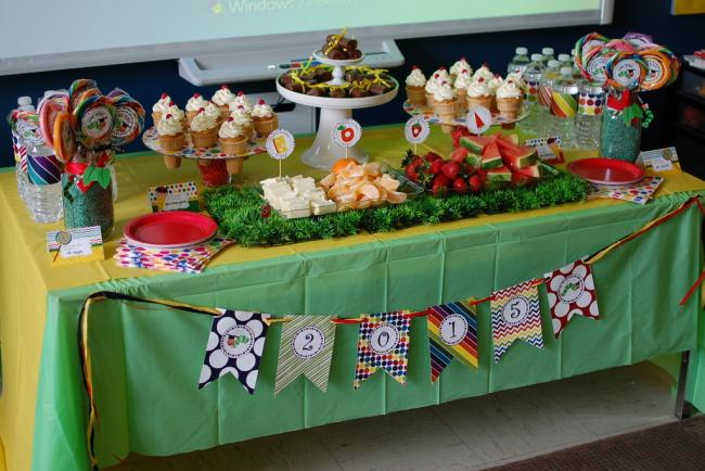 the very hungry caterpillar party by Spaceships and Laser Beams