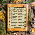 October Bucket List for Families
