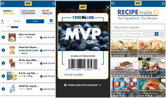 food lion mobile app makes shopping easier