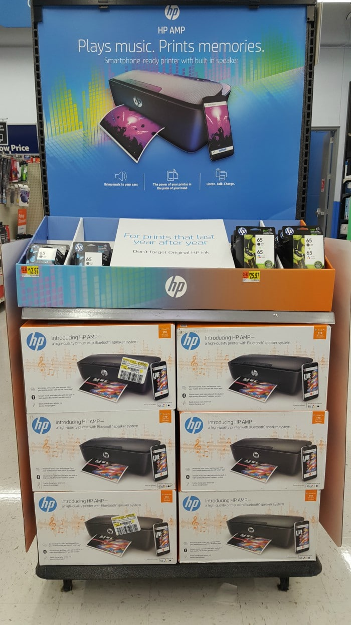 hp amp 100 printer walmart