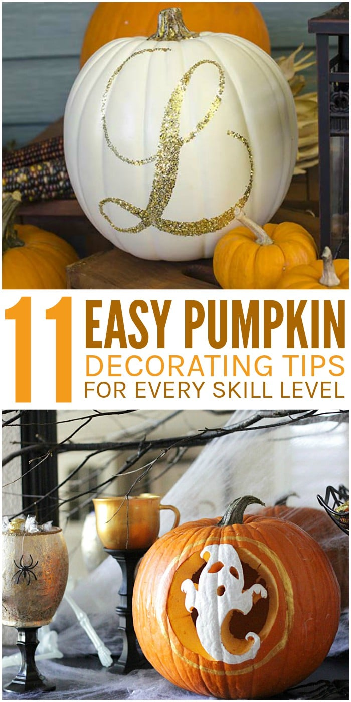 11 Pumpkin Decorating Tips for Every Skill Level