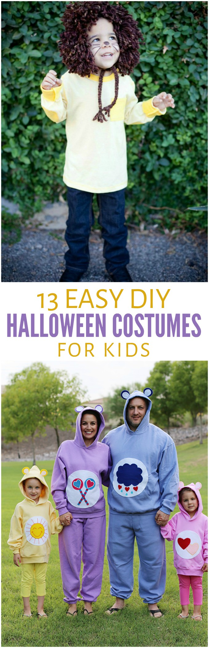 13 Easy DIY Halloween Costumes for Kids