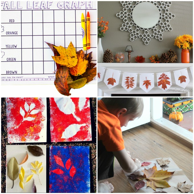fall leaf crafts for kids