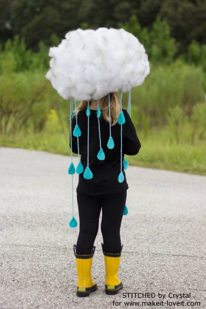 rain cloud costume