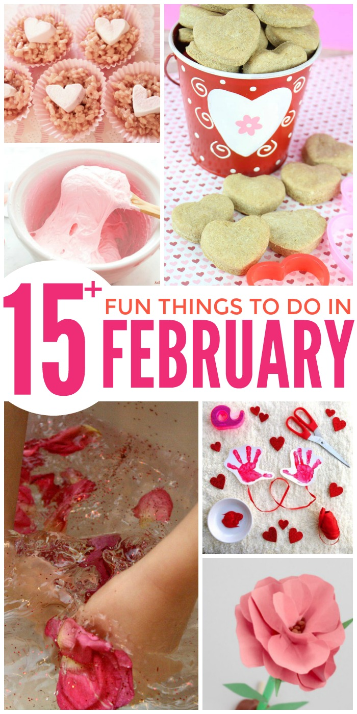 15 Fun Things to Do with the Kids in February
