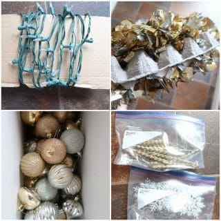 Christmas Lights and Ornament Storage Tips