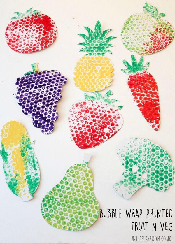 bubble wrap print fruit
