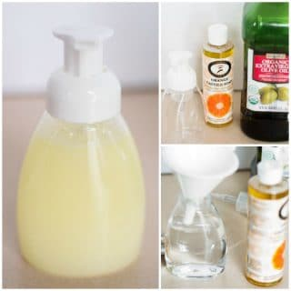 DIY Foaming Hand Soap – 3 Ingredients