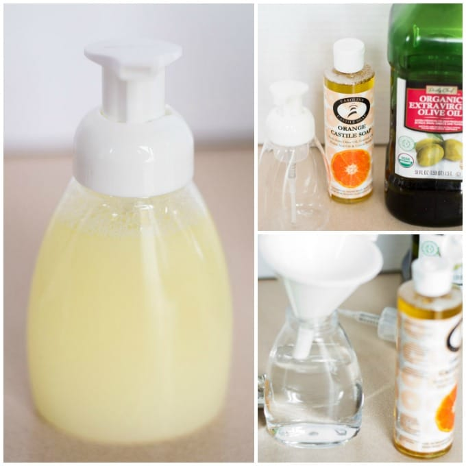 how to make your own foaming soap