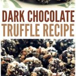 Yummy Dark Chocolate Truffle Recipe