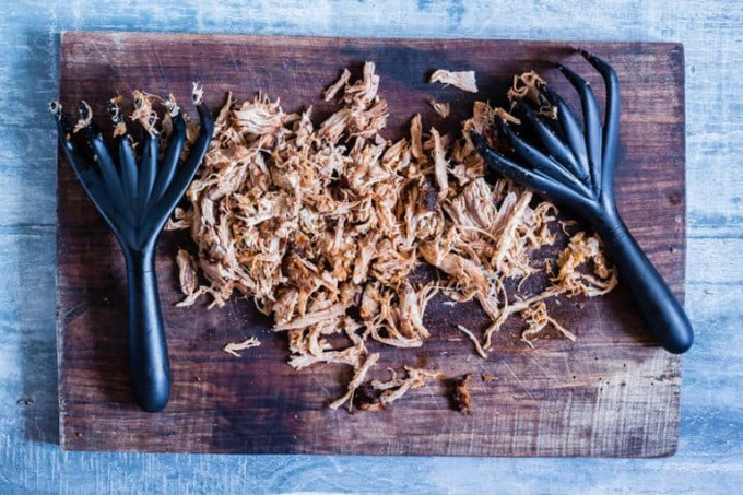 easy spicy pulled pork