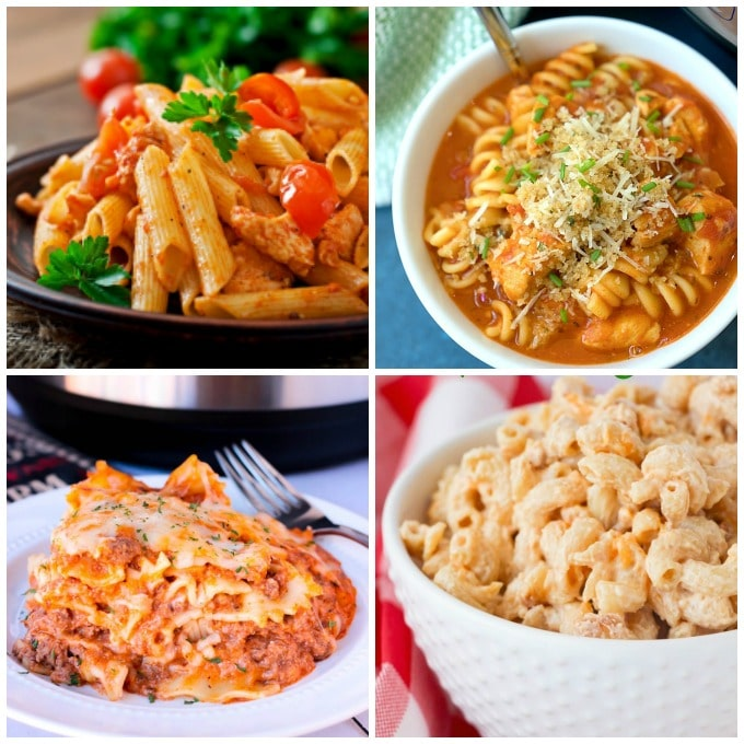 Instant Pot Pasta Recipes for Easy Mealtimes