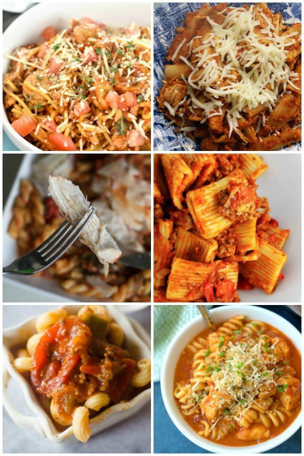 Pasta Meals for the Instant Pot