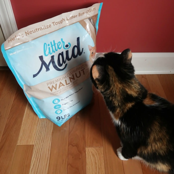 LitterMaid Walnut Litter for Cats