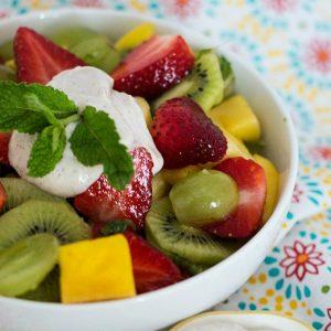 Tropical Fruit Salad feature