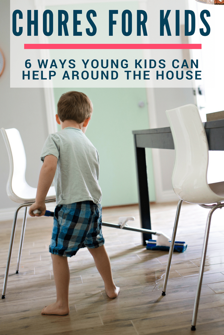 Chores for Kids - 6 Ideas for Young Kids to Help Mom
