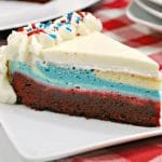 Red White and Blue Cheesecake – Patriotic Dessert Idea