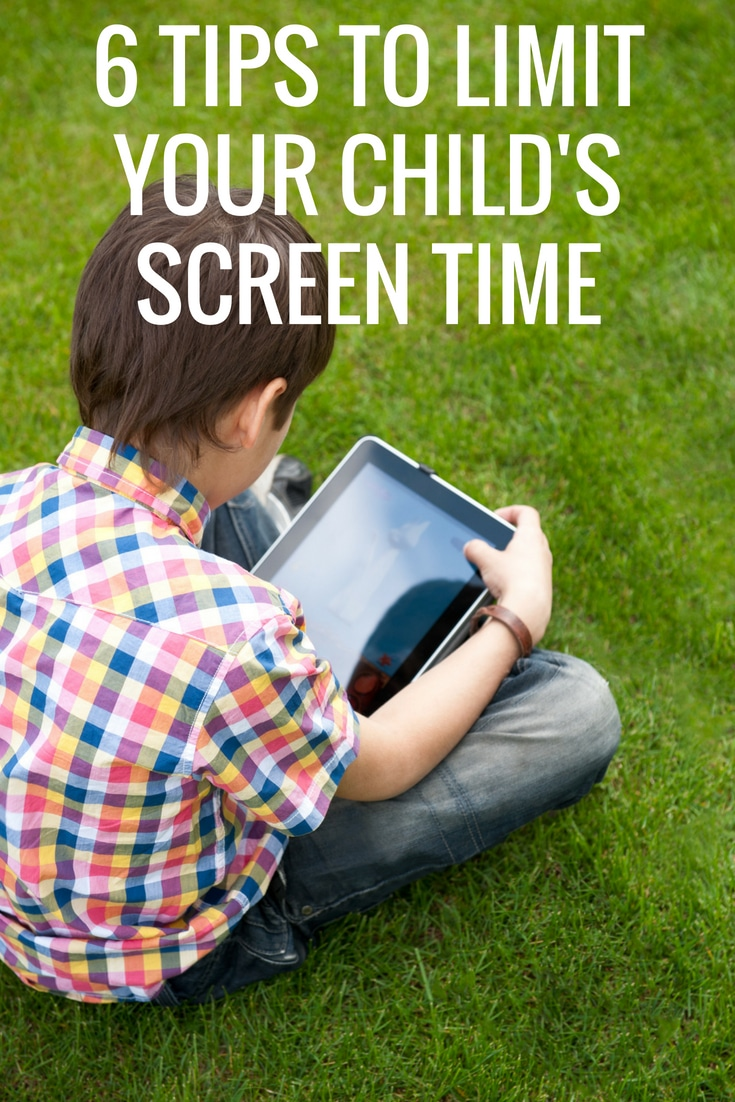6 Tips to Limit Screen Time for the Whole Family