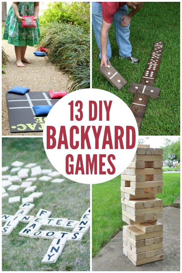 13 DIY Backyard Games You Can Make This Weekend
