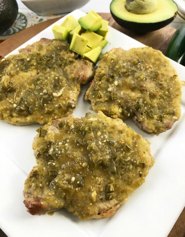 Quick and Easy Salsa Verde Pork Chops Recipe