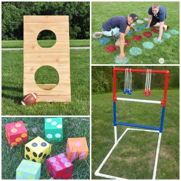 Fun DIY backyard games