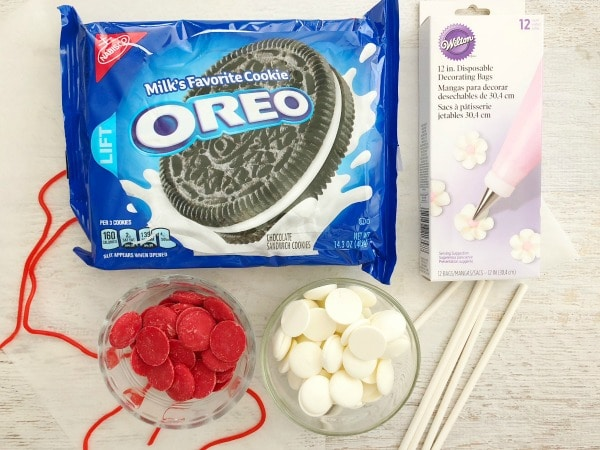 baseball oreo pops ingredients