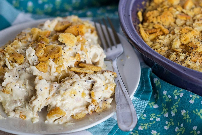 Family Meal Favorite: Chicken Ritz Casserole