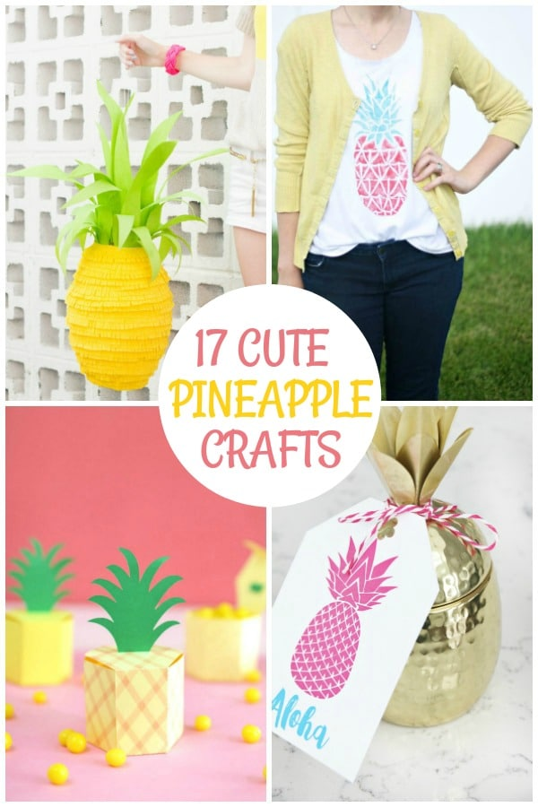diy pineapple craft ideas