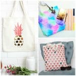 21 Ways to Dress Up Plain Canvas Tote Bags