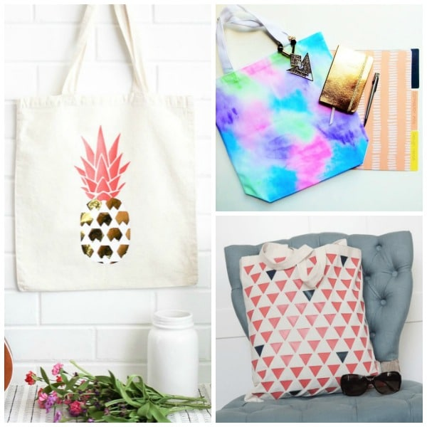 21 Gorgeous Ways to Dress Up Plain Canvas Tote Bags