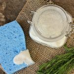 Homemade Soft Scrub Cleaner with Essential Oils
