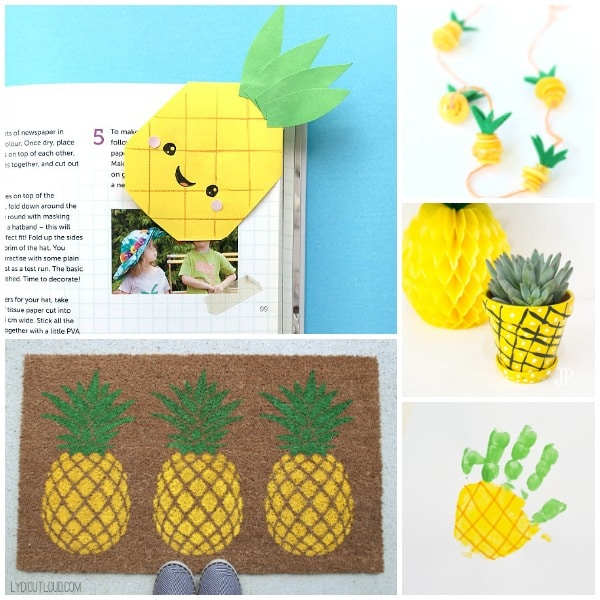 easy pineapple crafts