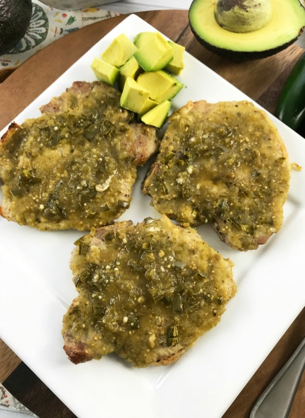 pork chops with salsa verde