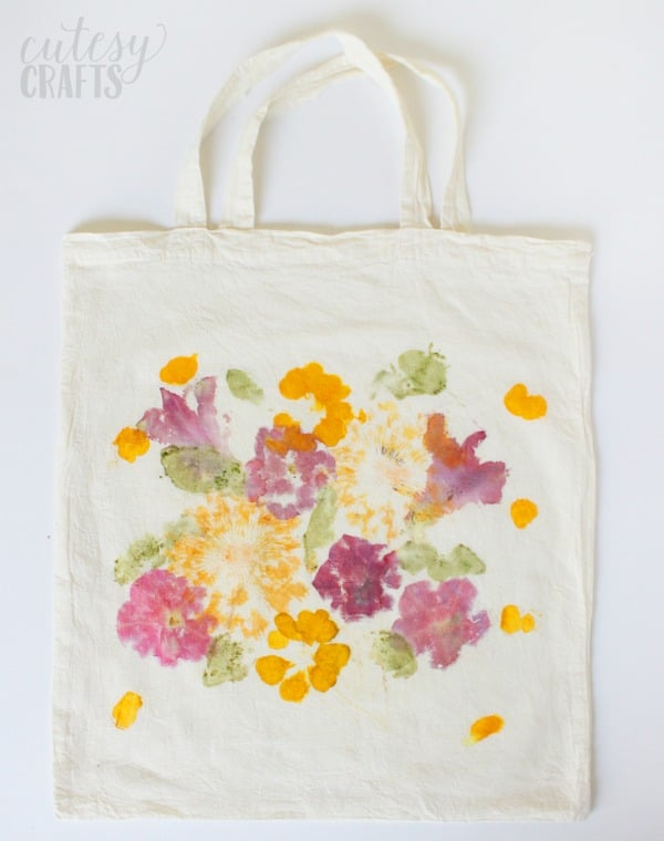 pounded flower tote