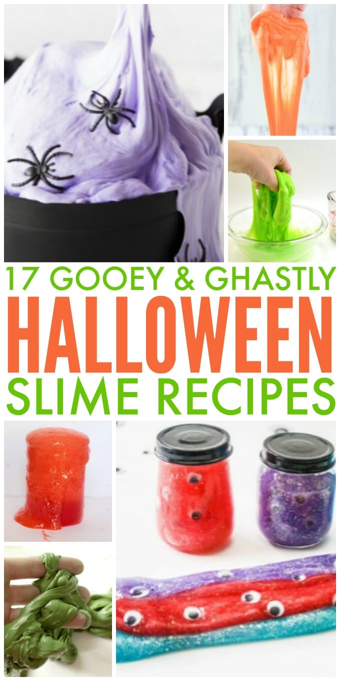 17 Halloween Slime Recipes for Kids to Make